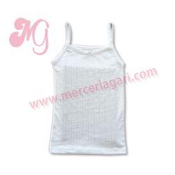 """Camiseta niña calada tirante """"190-215"""" -linn diacar"""