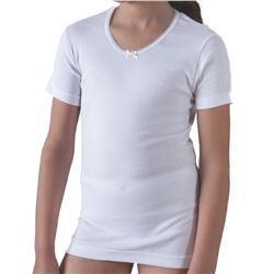 "Camiseta niña m/c 100% alg. ""5823"" - ferrys"