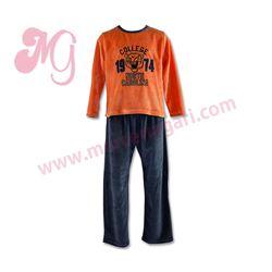 "Pijama niño tundosado m/l p/l ""66110 - college 1974"" - cocuy"
