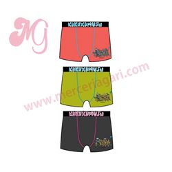 "Boxer cro. s/cost. alg. ""87662 - maratón"" - kukuxumusu"