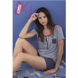 "Pijama sra. m/c p/c listas 100% alg. ""151244"" - massana"