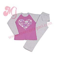 "Pijama niña m/l 100%alg shopping ""61604"" - cocuy"