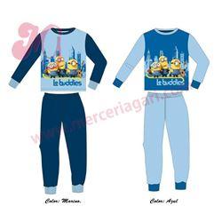 """Pijama niño m/l p/l puño minions """"33006"""""""