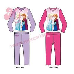 "Pijama niña m/l p/l frozen 100% alg. ""33437"""