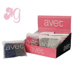"Pack-2 bragas niña corazones + rayas ""425"" - avet"