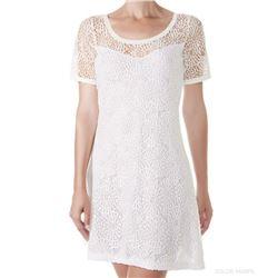 "Vestido sra. guipur + modal ""dress m/c audrey-modal"" - janira"