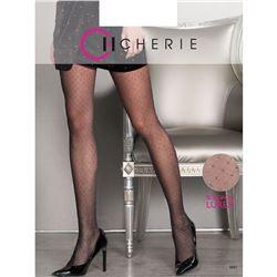 """Panty sra. 20 den plumeti + lurex """"5931"""" - cherie"""