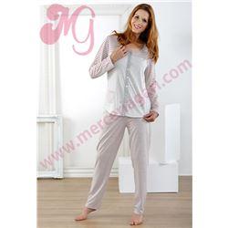 """Pijama sra. m/l p/l fino """"171252"""" - massana"""
