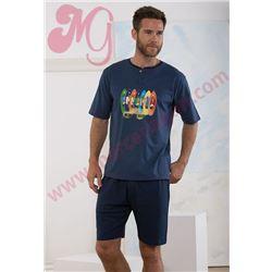 "Pijama cro. m/c p/c tablas surf ""161325"" - massana"
