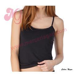 "Camiseta tirante fino micro ""70876"" - avet"