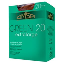 "Panty sra. espuma 20den ""green"" - omsa - GREEN EXTRALARGE"