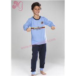 """Pijama niño m/l puño 100% alg. """"133609"""" - muslher"""