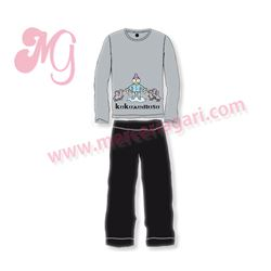 """Pijama niño m/l tundosado """"3121"""" - kukuxumusu"""
