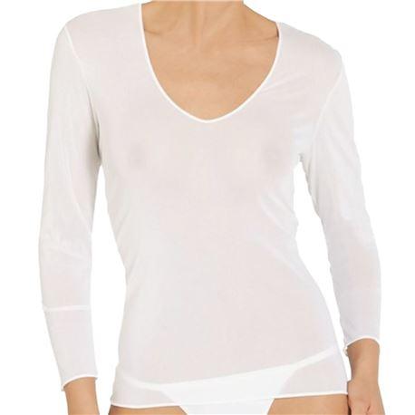 """Camiseta interior sra. tul m/larga """"m/l denis"""" - janira"""