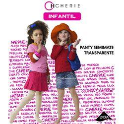 """Panty niña semiopaco basico 20den """"5427"""" - cherie"""