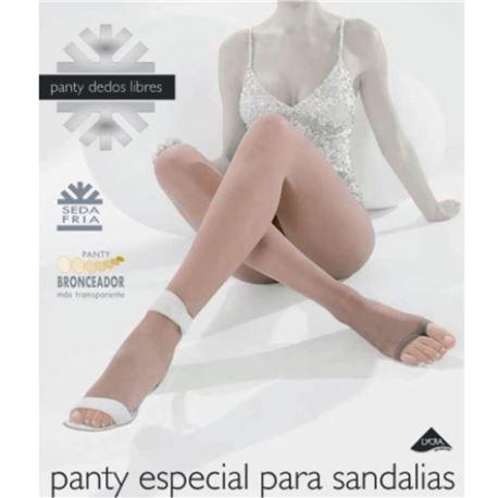 "Panty señora especial sandalias ""dedos libres"" - janira"