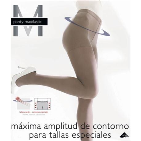 """Panty sra. 17 den tallas especiales """"maxilastic""""- janira"""
