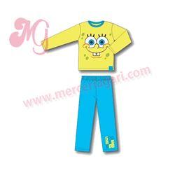 """Pijama infantil bob sponja 100% alg. """"10037"""" -"""