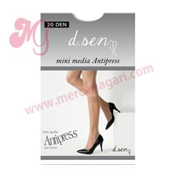 "Mini media 2 pares antipress 20den ""4102"" - dusen"