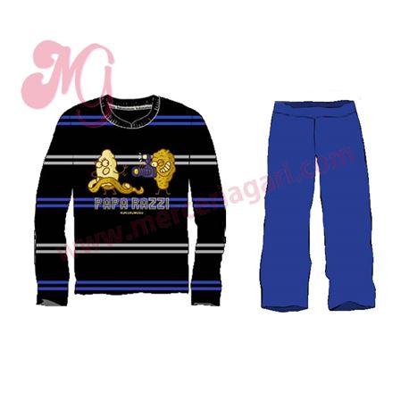 "Pijama cro. m/l p/l 100%alg. ""5184-paparazzi"" - kukuxumusu"