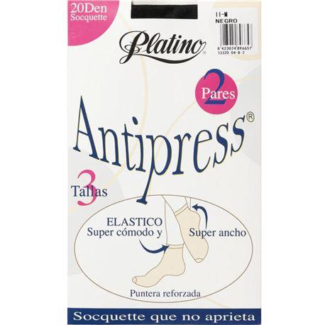 """Souquet media 20 den antipress """"33320"""" - platino"""