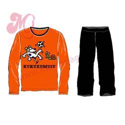 "Pijama niño m/l pl 100%alg. ""3132 - futguau"" - kukuxumusu"