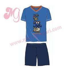 """Pijama niño m/c p/c 100% alg. """"trinko - 3135"""" - kukuxumusu"""