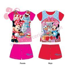"""Pijama niña m/c p/c minnie daisy 100% alg. """"831179"""" - disney"""