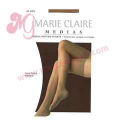 """Media sra. espuma gruesa 40 den """"450"""" - marie claire"""