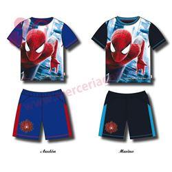 "Conjunto pijama niño m/c p/c ""spiderman-33507"" - disney"