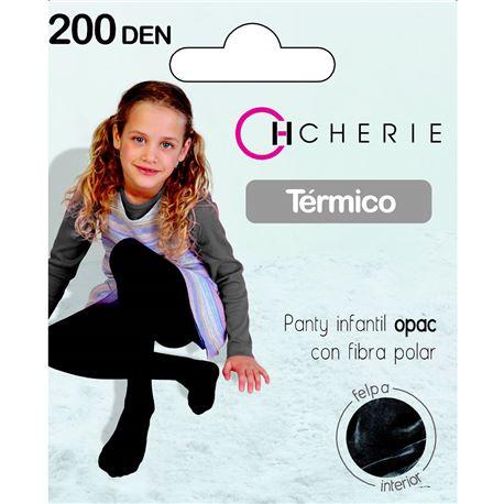 """Panty térmico infantil 200 den """"5403"""" - cherie"""