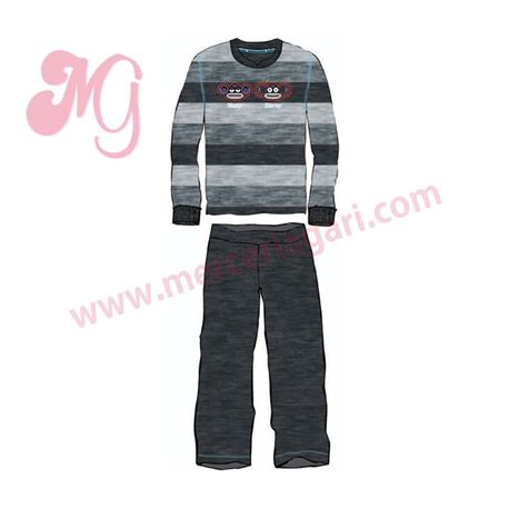 "Pijama cro. m/l p/l 100%alg. ""5195-monostereo"" - kukuxumusu"