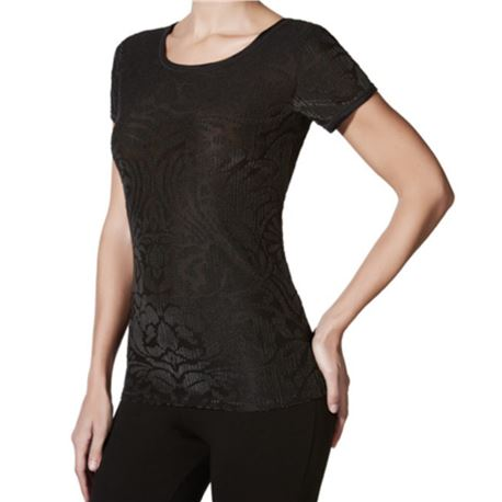 "Camiseta sra. m/c terciopelo ""m/c velvet"" - janira"