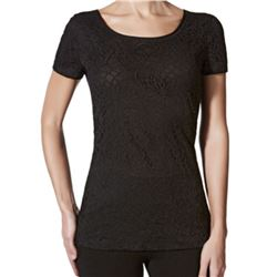 "Camiseta sra. m/c blonda ""m/c gaudi modal"" - janira"