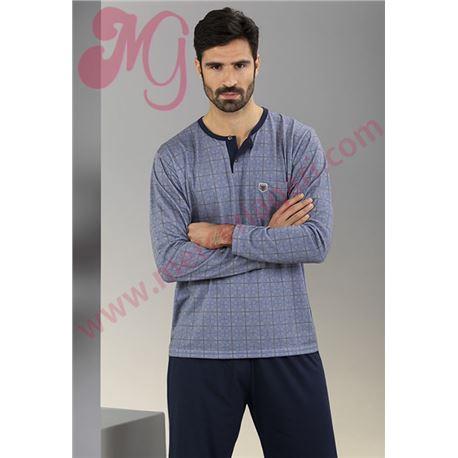 """Pijama cro. m/l p/l clásico """"651331"""" - massana"""