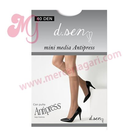 "Mini media 2 pares antipress 40den ""4104"" - dusen"