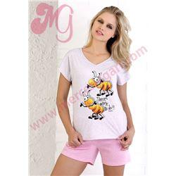 "Pijama sra. m/c p/c abejas ""161265"" - massana"