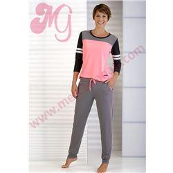 "Conjunto - pijama m/¾ p/l puño ""161201"" - massana"