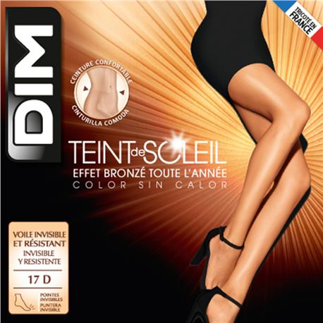 """Panty sra. verano 17 den brillo nueva cinturilla """"d1184"""" - dim"""