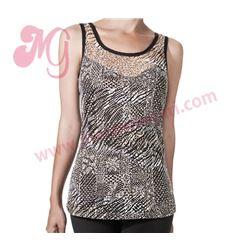 """Camiseta s/m leopardo calado """"im sophia"""" - janira"""