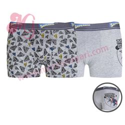"Pack-2 boxer niño alg. superman ""51245-40"" - punto blanco"