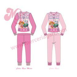 "Pijama niña m/l p/l puño patrulla canina ""41501"""