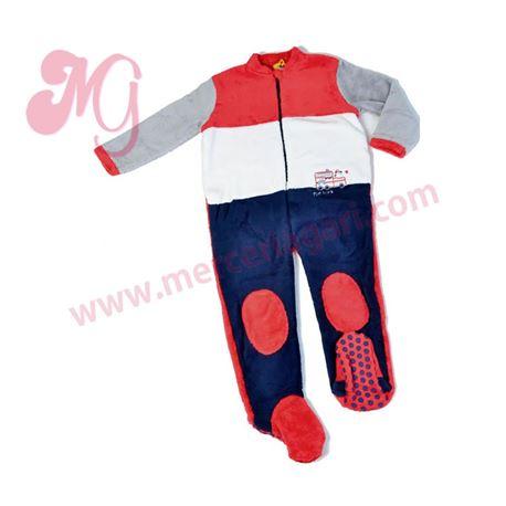 "Pijama manta niño tren ""161901"" - muslher"
