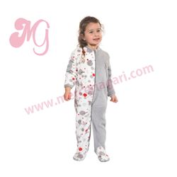 "Pijama manta niña corazón ""161908"" - muslher"