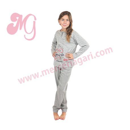 """Pijama niña m/l puño 100%alg. """"164611"""" - muslher"""