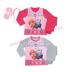 "Pijama niña m/l p/l skye 100% alg. ""40502 - patrulla canina"""
