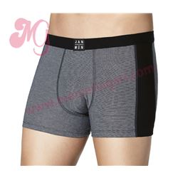 "Pack-2 boxer cro. negro + gris ""arthur"" - jan men"