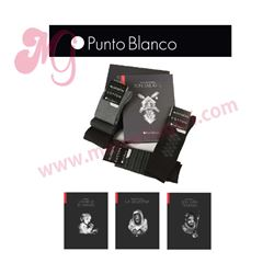 """Pack-5 """"74703-10"""" pares calcetines + libro"""