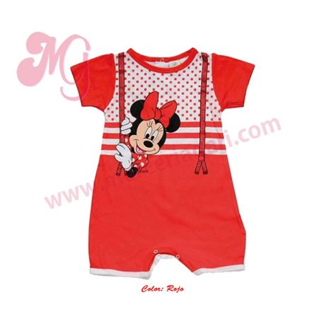 "Pelele m/c minnie 100% alg. ""9475"" - disney"