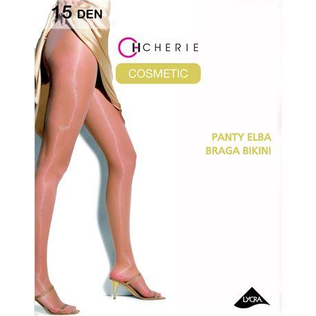 "Panty sra. liso brillo 15 den braguita ""5474-elba"" - cherie"